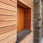 Facciate con pareti ventilate in legno